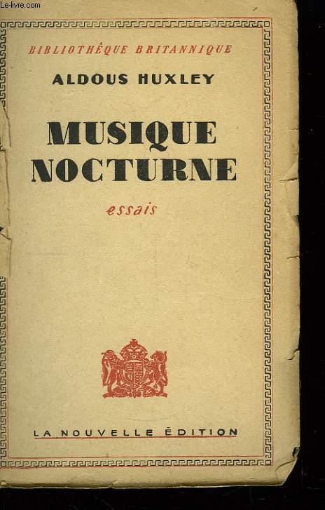 Musique Nocturne.