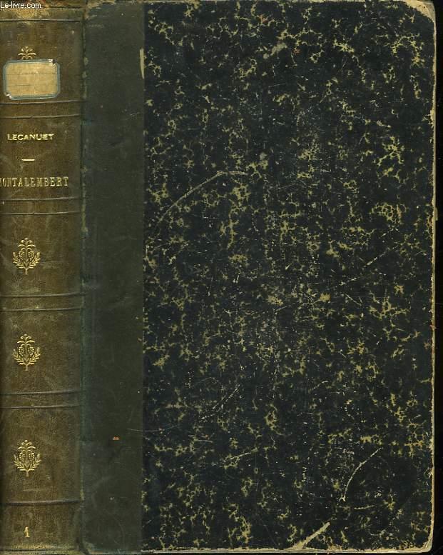 Montalembert. Sa jeunesse (1810 - 1836)