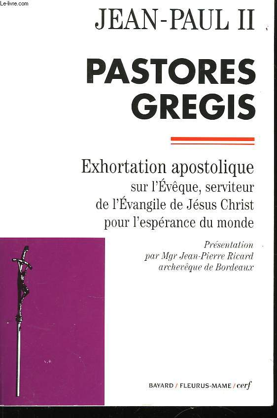 Pastores Gregis.
