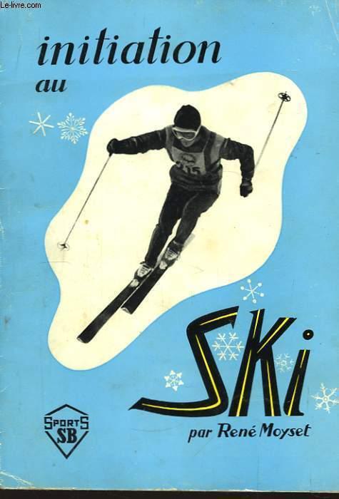 Initiation au ski.
