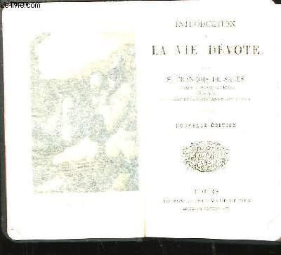 Introduction à la Vie Dévote.