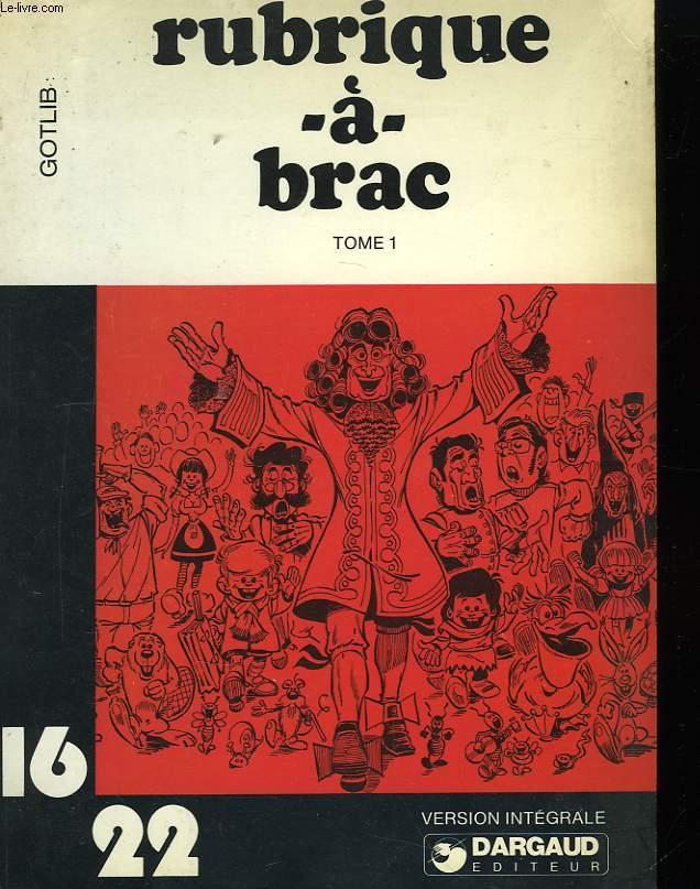 Rubrique-à-brac TOME 1