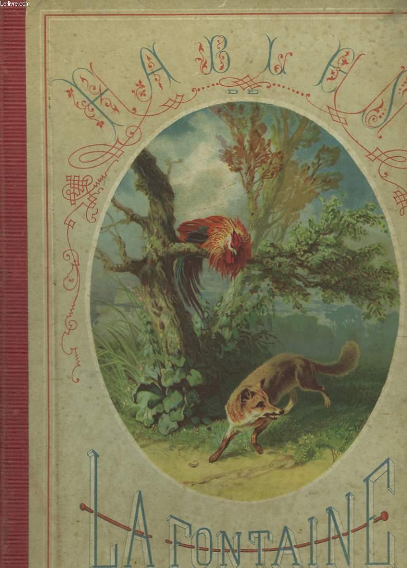 Choix de fables de La Fontaine. Album pour les Enfants.