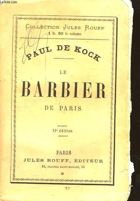 Le Barbier de Paris.