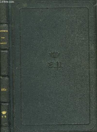Le Moniteur des Demoiselles, ancien Journal des Jeunes Filles. Année 1851
