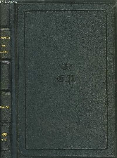 Le Moniteur des Dames et des Demoiselles. Années 1857 - 58