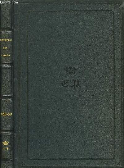 Le Moniteur des Dames et des Demoiselles. Années 1858 - 1859