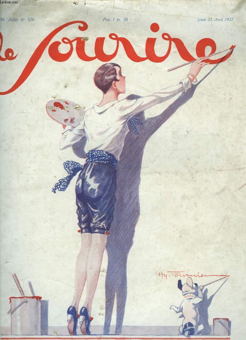 Le Sourire n°520, 30ème année : Une petite femme de lettres.