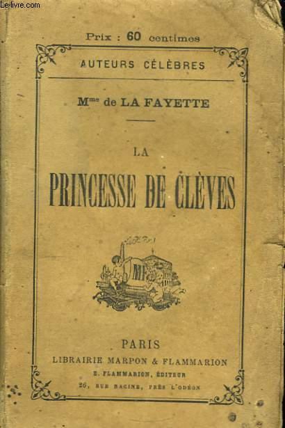 La Princesse de Cleves.