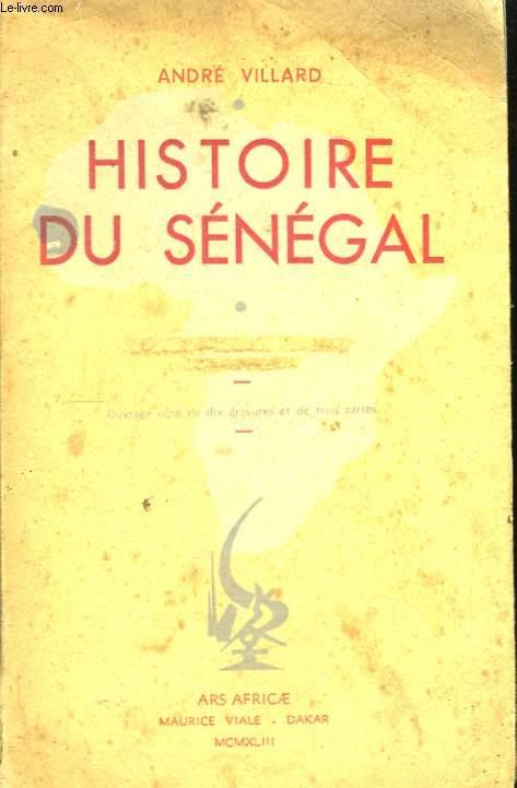 Histoire du Sénégal.
