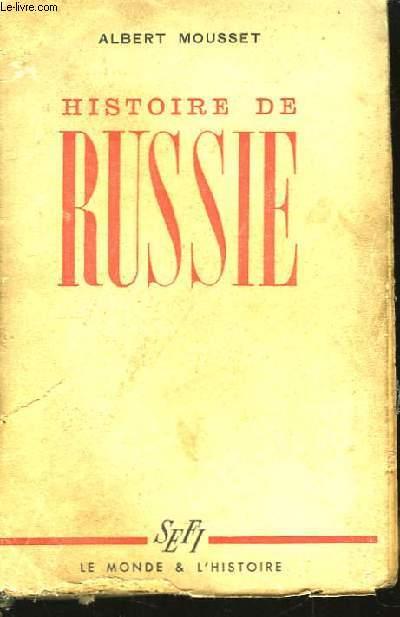 Histoire de Russie.