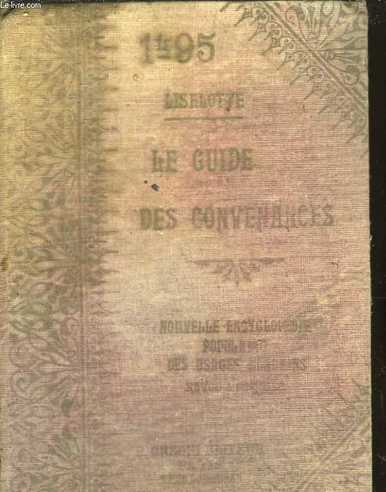 Le Guide des Convenances.