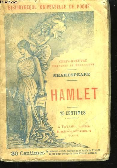 Hamlet. Prince du Danemark.