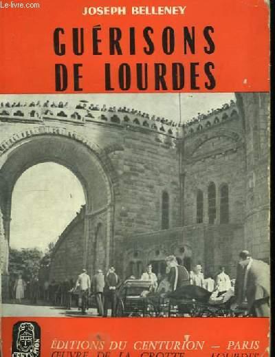 Guérisons de Lourdes.