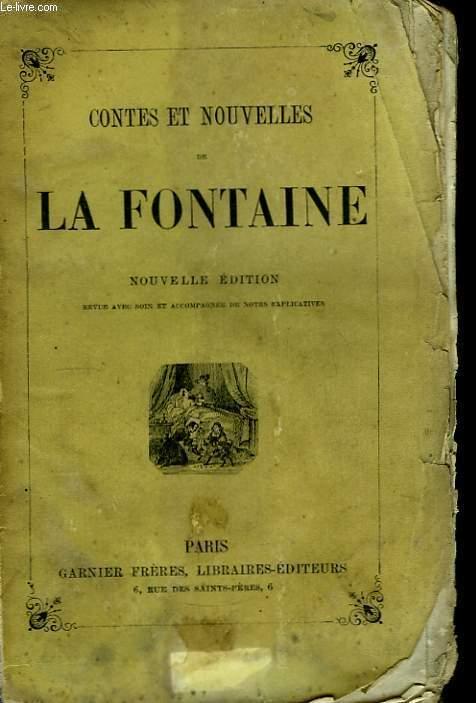 Contes et Nouvelles de La Fontaine.