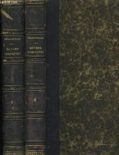 Oeuvres de Shakespeare. En 3 TOMES
