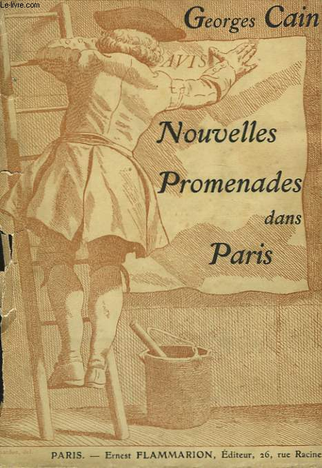 Nouvelles Promenades dans Paris.