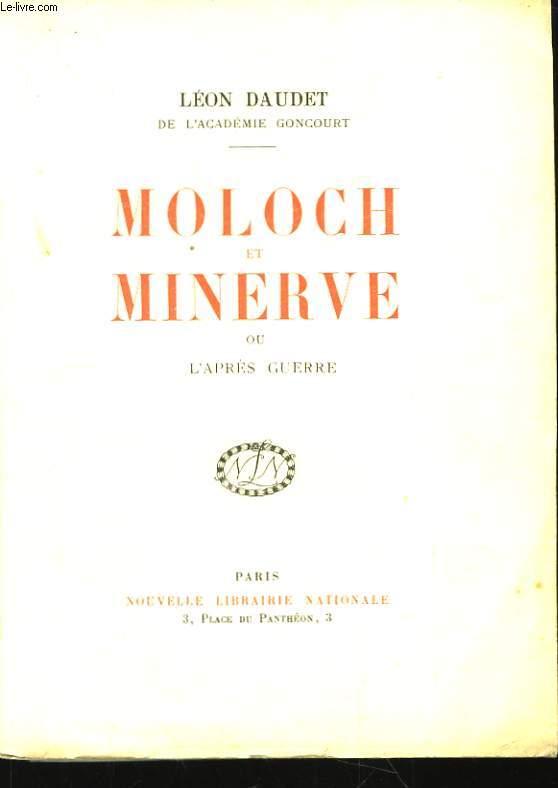 Moloch et Minerve, ou l'après-guerre.