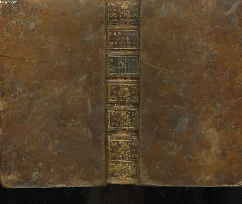 Les Caractères de Théophraste et de La Bruyère. TOME 2
