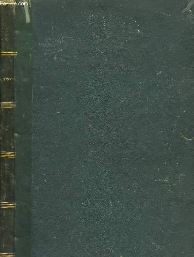 Le Monastère (1550 - 1558). TOMES VI, VII et VIII, en un seul volume.