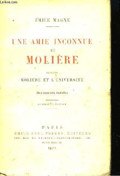 Une Amie inconnue de Molière.