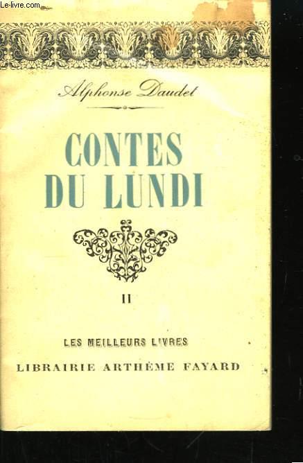 Contes du Lundi. Tome II