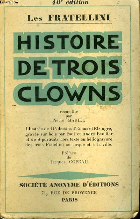 Histoire de trois clowns