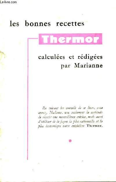 Les bonnes recettes Thermor.