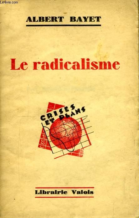 Le radicalisme