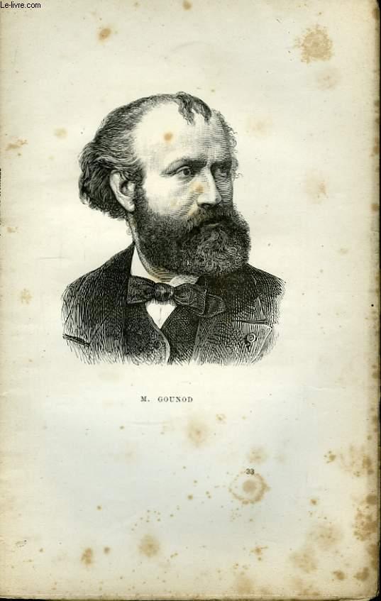 Portraits Contemporains. Ch. Gounod.