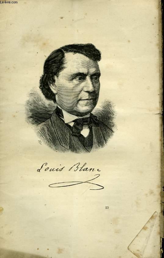 Portraits Contemporains. Louis Blanc.