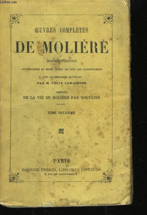 Oeuvres complètes de Molière. TOME II