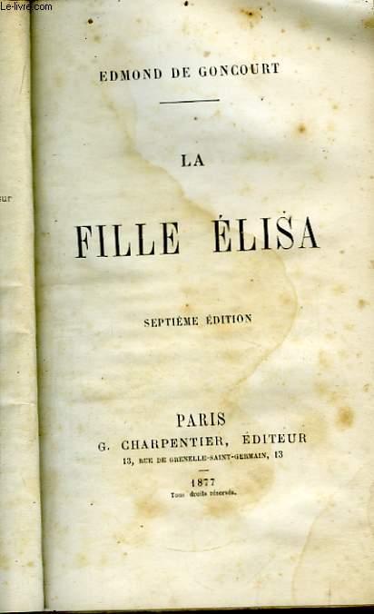 La Fille ELisa.
