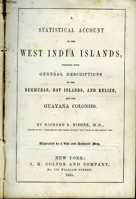 Description of the West Indies. A statistical account of the West India Islands.