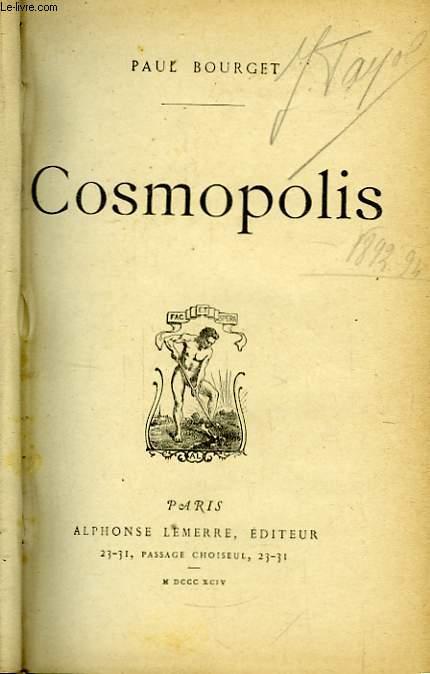 Cosmopolis.