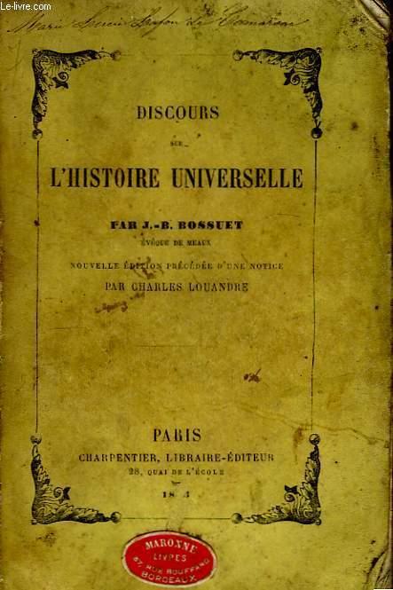 Discours sur l'Histoire Universelle.