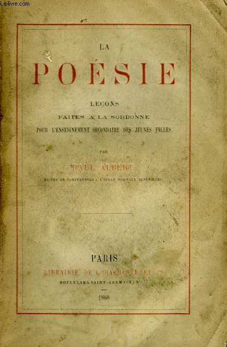 La Poésie.