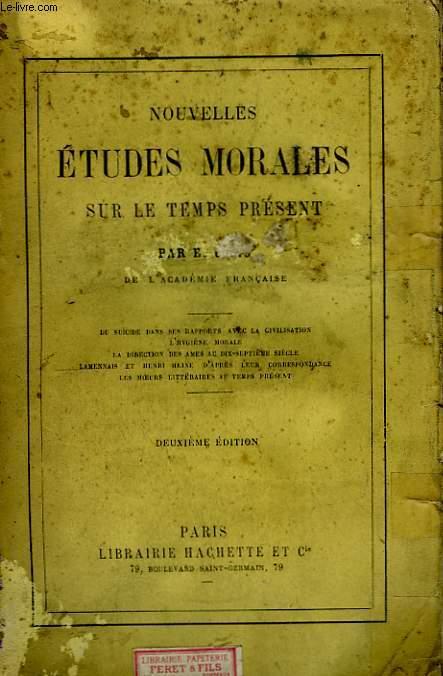 Nouvelles Etudes Morales, sur le temps présent.