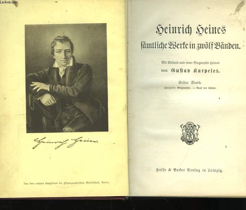 Henrich Heines, sämtliche Werse in zwolf Landen.
