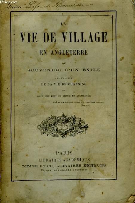 La Vie de Village en Angleterre.