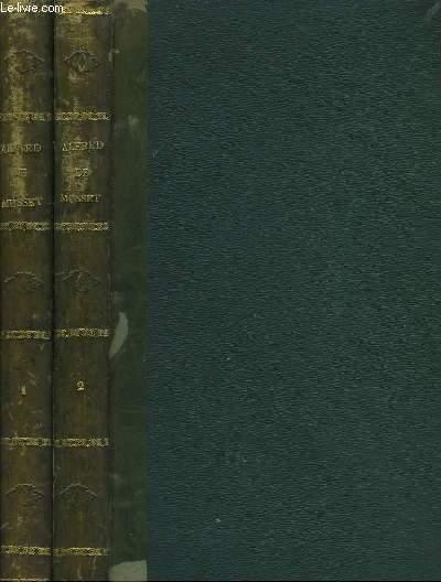 Oeuvres de Alfred de Musset. En 2 TOMES