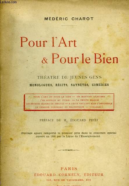 Pour l'Art & Pour le Bien