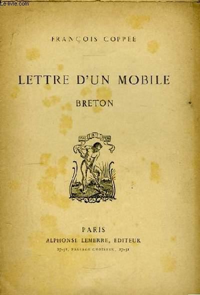 Lettre d'un mobile Breton