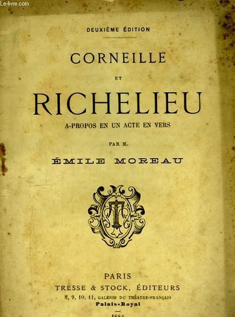 Corneille et Richelieu