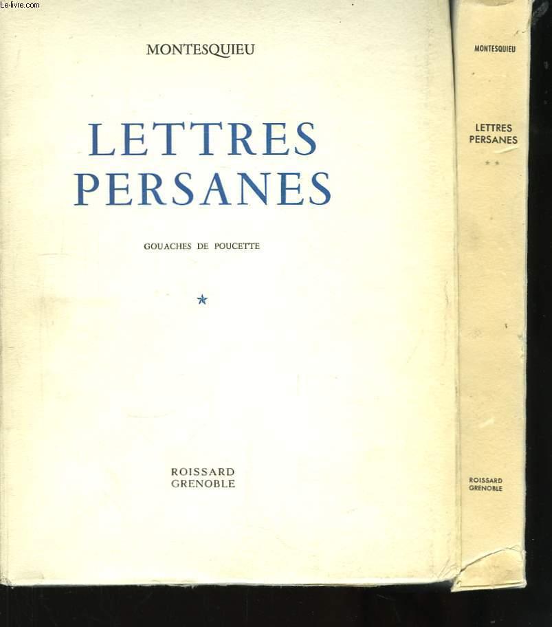 Lettres Persannes. En 2 TOMES