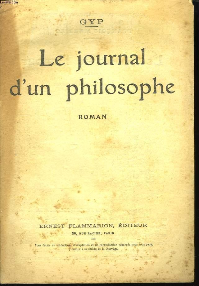 Le journal d'un philosophe