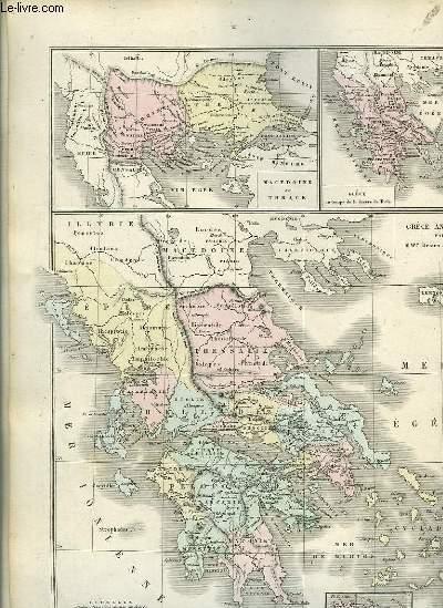 Atlas Universel et Classique de Géographie ancienne, romaine, du Moyen Âge, Moderne et Contemporaine.