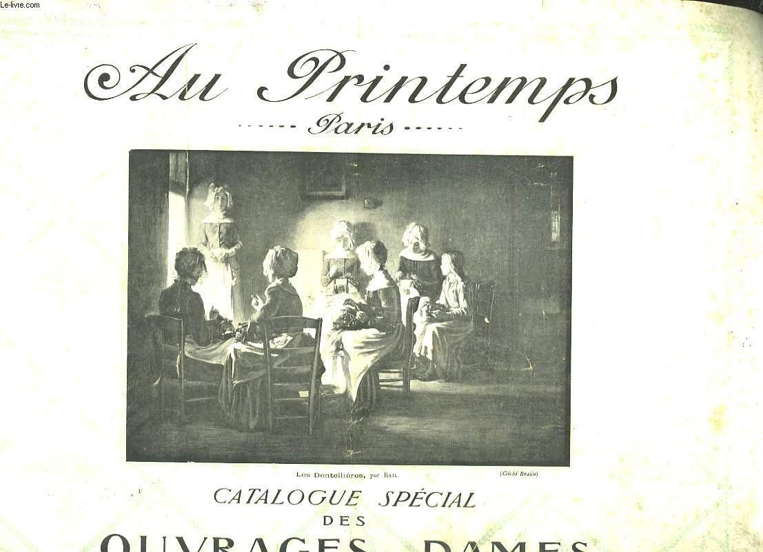Catalogue Spécial des Ouvrages de Dames.