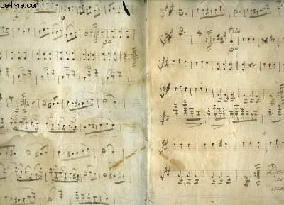 Trio pour premier - Second Violon et Guitare