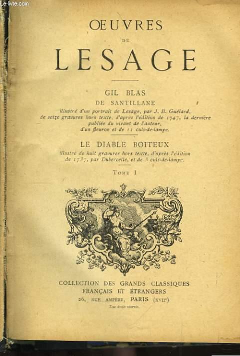 Oeuvres de Lesage. TOME I